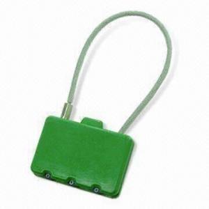 China Candado de la combinación/cerradura del bolso, usada para el equipaje, los bolsos del viaje, las carteras, las mochilas y las maletas on sale