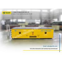 China Automatic Control Battery Power Cement Trackless Transfer Carts on sale