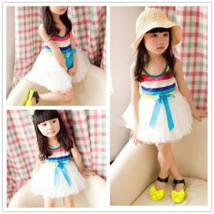 China 2014 fashion design baby girl dress quinceanera dresses little girls mix order wholesale on sale