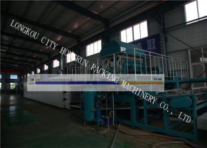 China Pulp Egg Tray Machine / Molded Pulp Machine 1000 - 6000 Pieces Per Hour Capacity on sale