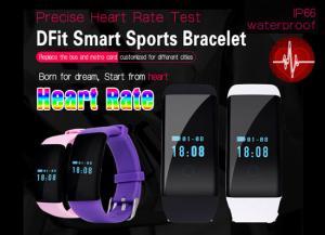 China Sport Bracelet Bluetooth Heart Rate Monitor Wristband  Smart Bracelet D21,IP66 Waterproof on sale