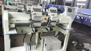 China 9 / 12 / 15 Needle Cap Embroidery Machine , Cloth Embroidery Machine With Servo Motor on sale