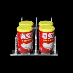 China Eas System Automatic Plastic Shelf Divider Pusher Safer Protector Acrylic Display  on sale