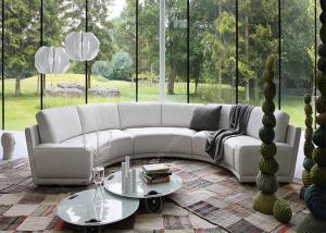 Pleasant Semi Round Hotel Lobby Small Modular Sofa Lounge Leather Creativecarmelina Interior Chair Design Creativecarmelinacom