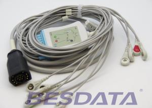 China One Piece ECG EKG Cable Snap 15Pin For Zoll E Series / M Series Defibrillator on sale
