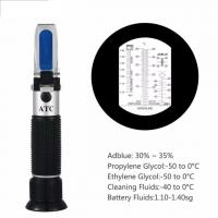 Hand Held Tester Tool 4 In 1 Engine Fluid Glycol Antifreeze Freezing Point Car Battery Refractometer W ATC