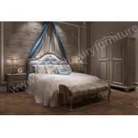 China New Arrival Hand Carved French Style Master Room King Bed FB103 on sale