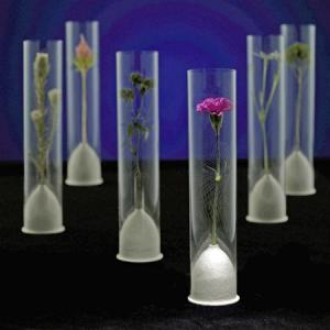 China pink red dots foldable plastic vase wholesale on sale
