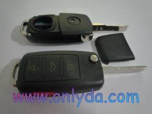 China VW Touareg 3+1 button remote key blank on sale