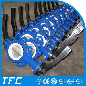 China wafer valve 4 inch butterfly valve, 6 inch butterfly valve on sale