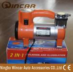 Único compressor de ar do Inflator do pneu do cilindro/bomba de ar portátil para o carro