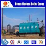 10 TON Coal Wood Fired Steam Boiler Chain Grate Stoker High Efficiency