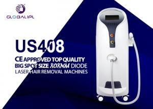 China 1000 W Diode Laser Hair Removal Machine Big Spot Size 5-400ms Adjustable on sale