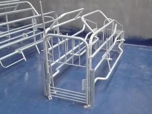 China Steel Farrowing crate with galvanized steel materials customized size on sale
