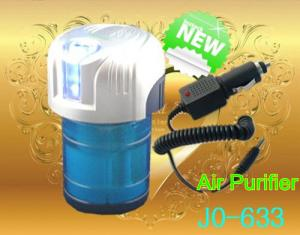 China 12V DC Silver Blue Mist and Negative Ions Car Air Humidifiers and Home Air Cleaners on sale