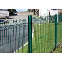 China Firm Structure  PVC Coated Wire Mesh Fence 5.0mm , Wire Garden Fencing on sale