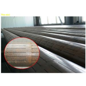 China p110 BTC slotted casing pipe on sale