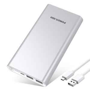 China 10000mAh Slim Portable Power Bank Dual USB Fast Charger for iPhone , Sangsung on sale