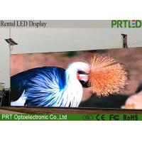 CE RoHs  P10 Full Color Video Wall outdoor LED Large Screen Display with 1/2 scan SMD3535