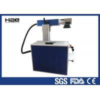 10w 20w Portable Laser Marking Machine Enclosed Laser Etching Machine For Metal
