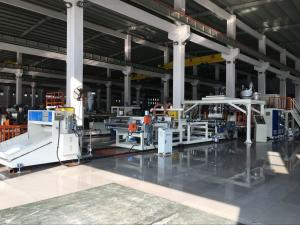 China PE PP PS ABS Plastic Sheet Extrusion Machine For File Folder / Lamp Shade on sale
