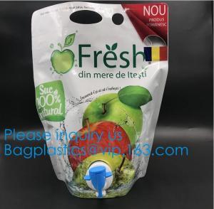 China Aluminum Foil Bag In Box 5l Aseptic Bags For Fruit Juice,Aseptic Wine Bag In Box Liquid Packaging Aseptic Soap Milk Juic on sale