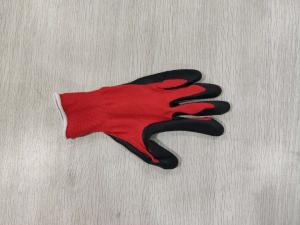 China 42 Grams Gardening Machines Working Glove For Labor Nylon Material Nitrile Glove on sale