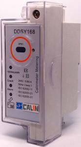 China Audio Feedback Keypad Din Rail Kwh Meter , Single Phase Kwh Meter 240V on sale