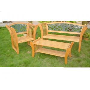 China China LFurniture Wooden Bench and End Table Set-9 on sale
