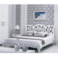 Panel Bedroom Furniture / Home Room Furniture White High Gloss Painting
