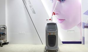 China 1064nm 532nm Black Doll ND YAG Laser Tattoo Removal Machine With Energy Stabilization on sale