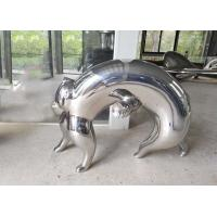China Interior Abstract Metal Animal Sculptures Modern Typed For Home Decor on sale