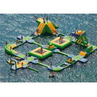 New Design Giant Beach Inflatable Water Parks Lake Floating Water Games