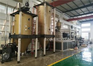 China Decorated Plastic Sheet Extrusion Line / Auto Wpc Profile Extrusion Line on sale