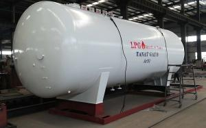 China Custom Made Transporting Large Propane Tanks For Gas Cylinder Filling Plant Set Up on sale