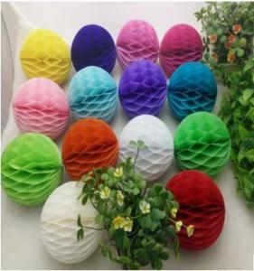 China Personalized Cheap Custom Party Wedding Decoration Paper Honeycomb Ball on sale