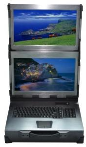China IPC-2W15, 15 inch  industrial workstation, 2 screen requires folding vertically on sale