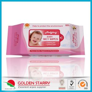 China Newborns Unscented Alcohol Free Baby Wipes Chemical Free Non Woven on sale