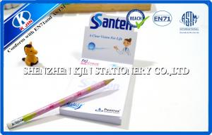 China Students / Office White Memo Sticky Notes Set , Personalized Blank Sticky Notes on sale