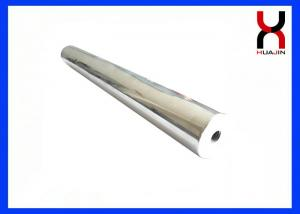 China Round Permanent Magnet Rod Strong Neodymium Type With M8 Screw Holes on sale