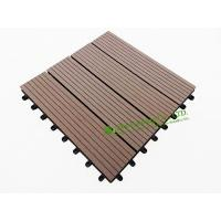 Garden Tiles For Sale, WPC Outdoor decking For Garden, easy Installation wpc decking tiles, 300x300mm
