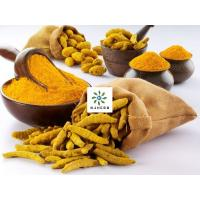 China Yellow Powder Water Soluble Curcumin 95% For Pasta Products on sale