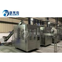 Sport / Energy Drink Round Bottle Carbonated Drink Filling Machine For Small Capacity