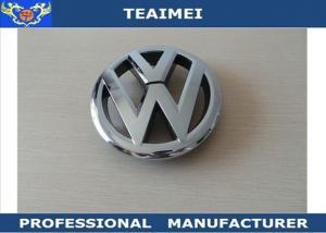 Custom Auto Emblems Badges Luxury Car Emblems 125mm High Chrome For
