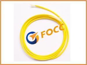 China Outdoor 3.0mm LSZH Single Mode Fiber Optic Cable With Yellow Outer Sheath on sale