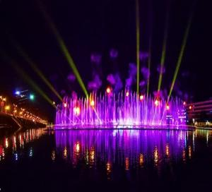 China 20W Stage Outdoor Laser Projector for Fountain project on sale
