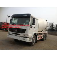 Sinotruk Howo7 10CBM  Concrete Mixer Truck With RHD 10 Wheels And Italy Pump