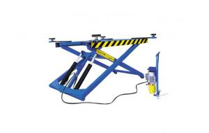 China Movable Scissor Hydraulic Car Lift 270 Potable With Flexible Lifting Arms on sale