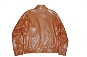 China No Buttons OEM Bomber, Casual and Stylish, Thick Leather Motorcycle Jacket for Men on sale
