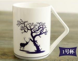 China certifiction SGS/CE 3932 bone china ceramic mugs personalized custom printed ceramic mugs ash more than 45% on sale